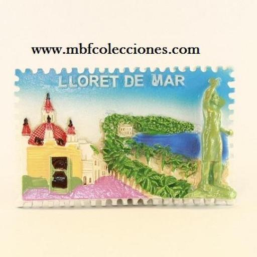 IMÁN LLORET DE MAR RF. 0854 [0]
