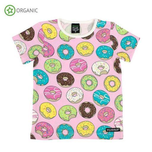 Camiseta manga corta de algodón orgánico Villervalla [1]