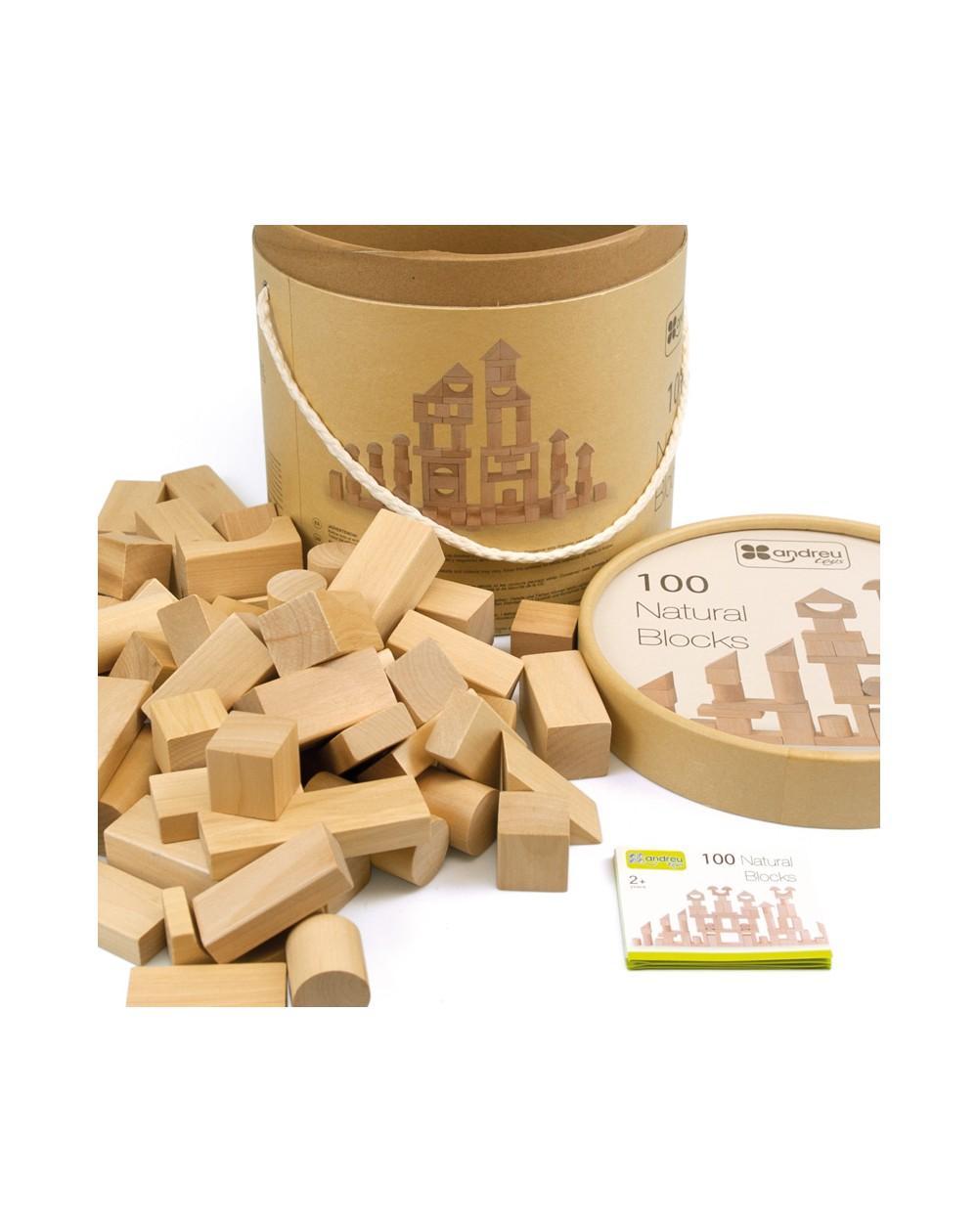 Natural Block 100 piezas