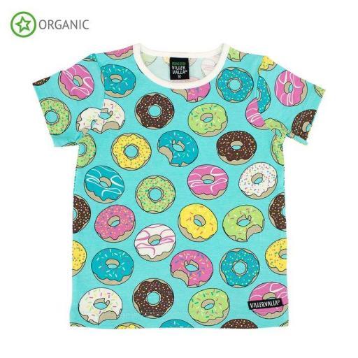 Camiseta manga corta de algodón orgánico Villervalla