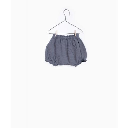 Pantalón corto de algodón orgánico Play Up [3]