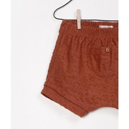 Pantalón corto de algodón orgánico Play Up [2]