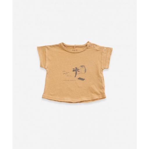 Camiseta manga corta de algodón orgánico Play Up
