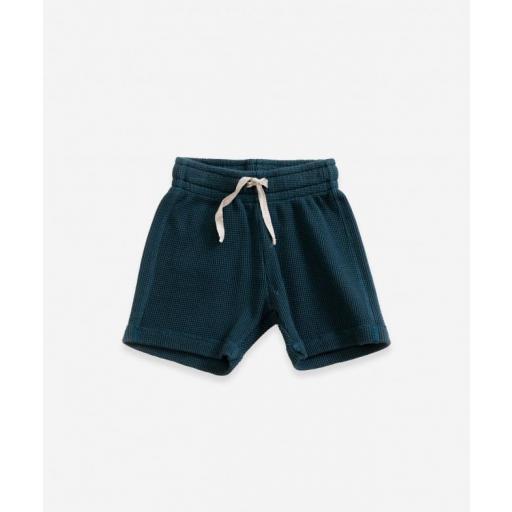 Pantalón corto de algodón orgánico Play Up