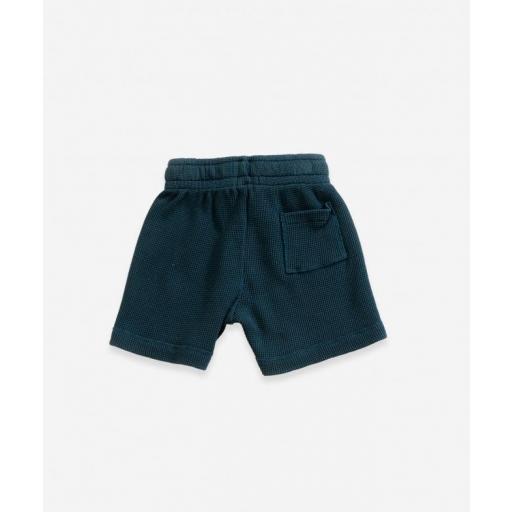 Pantalón corto de algodón orgánico Play Up [1]