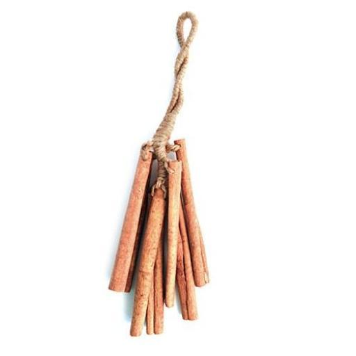Sonajero de palos de canela natural