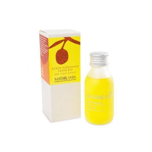 Aceite hidratante suave bebe y piel sensible 100% Bio Matarrania