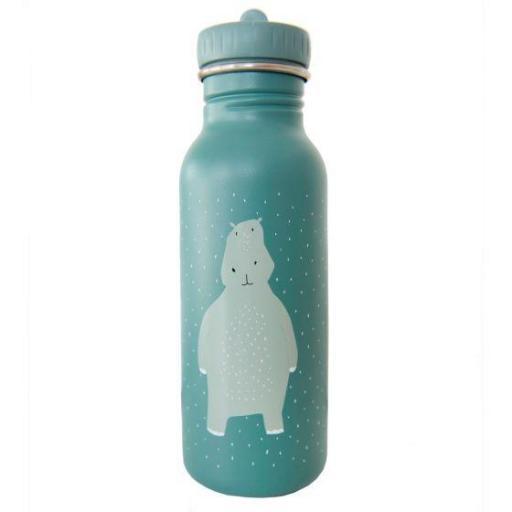 Botella acero inoxidable Mr. Hippo 500ml.