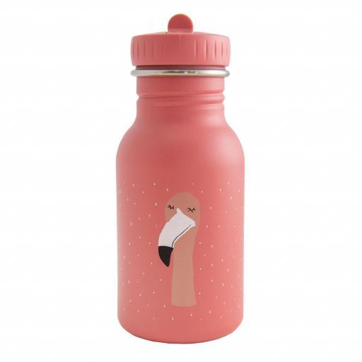 Botella de acero inoxidable Trixie Mrs. Flamingo