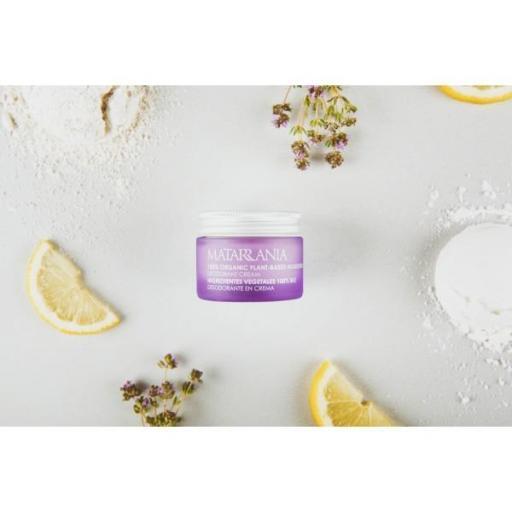 Desodorante en crema sin bicarbonato y sin aluminio Matarrania [1]