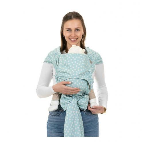 FlyClick Fidella Baby | Polka Dots - Ask Blue