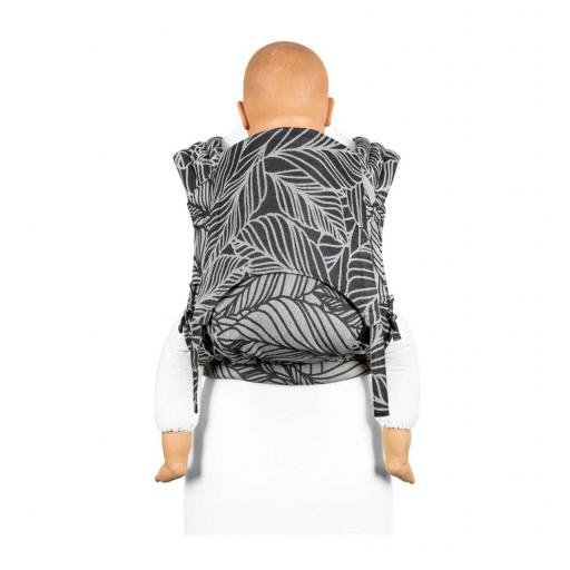 FlyTai Fidella Toddler | Dancing Leaves - Black & White