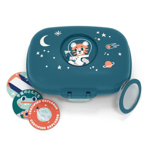 Caja merienda infantil - fiembrera infantil Gram Cosmic Azul