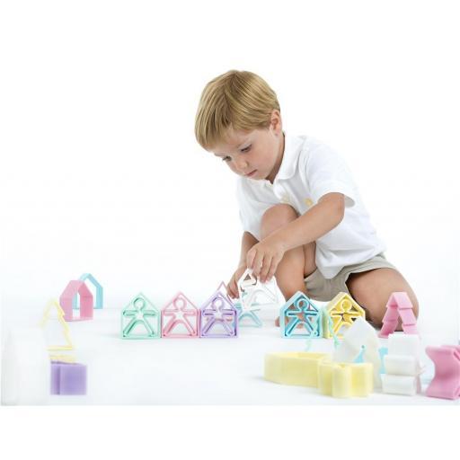 Pack 1 Kid + 1 House Dëna Rosa Pastel [1]