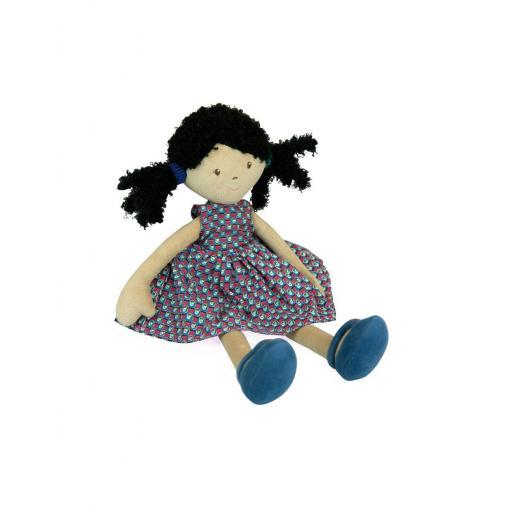 Muñeca de tela Leota