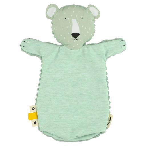 Handpuppet Mr. Polar Bear Trixie