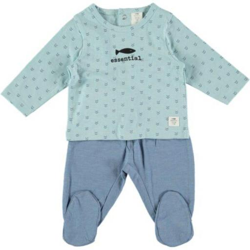 Pijama Cotton Fish