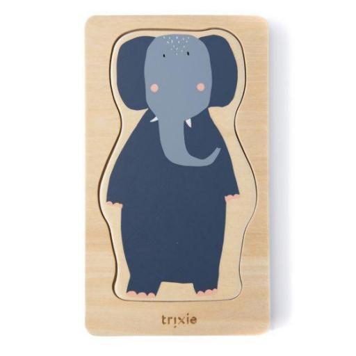 Puzzle de animales de 4 capas Trixie  [1]