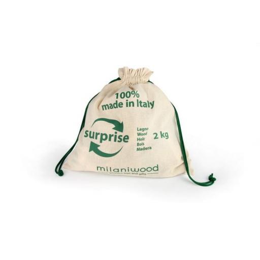 Bolsa de piezas sueltas de 2kg. Milaniwood