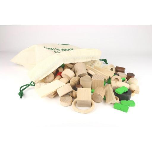 Bolsa de piezas sueltas de 2kg. Milaniwood [1]