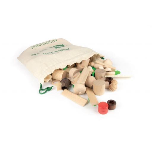 Bolsa de piezas sueltas de 2kg. Milaniwood [2]