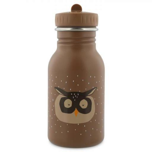 Botella de acero inoxidable Mr. Owl