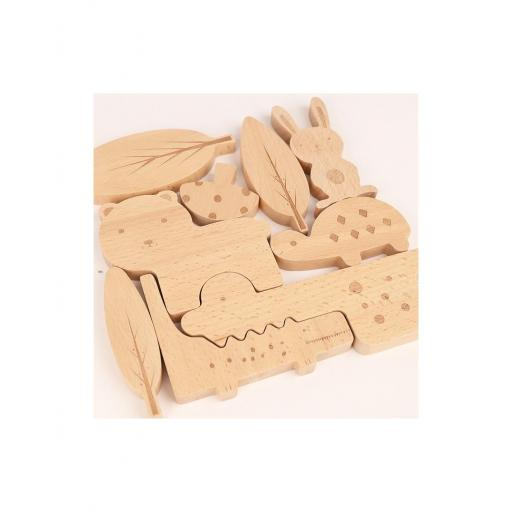 Wooden Design Puzzle