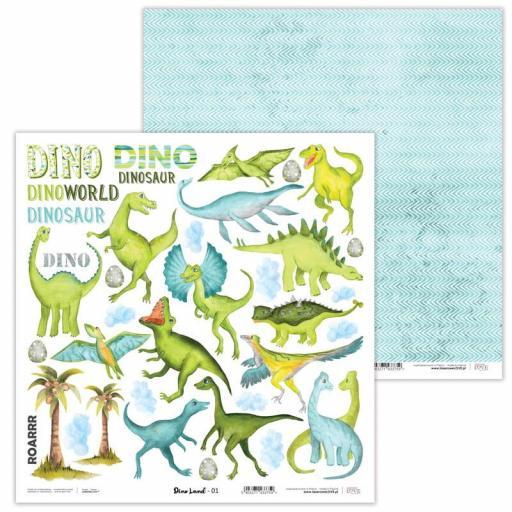 """Set de Papeles - """"Dino Land""""   [1]"""