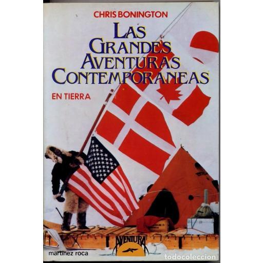 Las grandes aventuras contemporáneas en tierra, de Chris Bonington