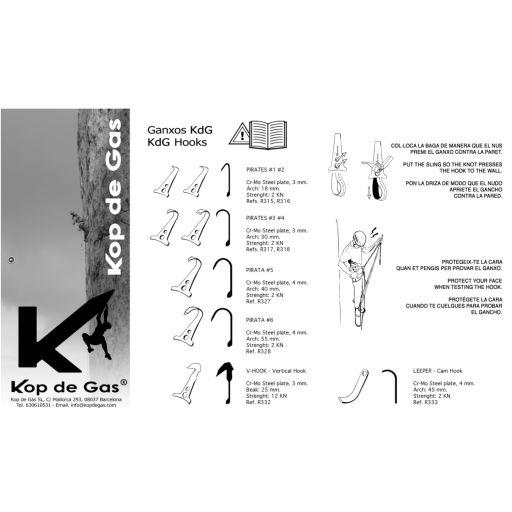 V-HOOK GANCHO VERTICAL DE KOP DE GAS [2]