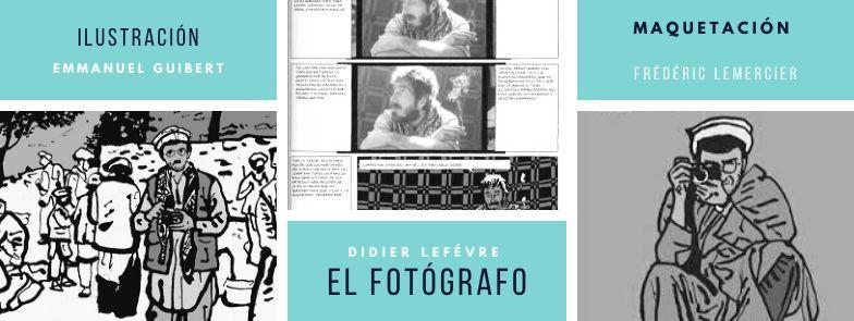 """CÓMIC """"EL FOTOGRAFO"""""""