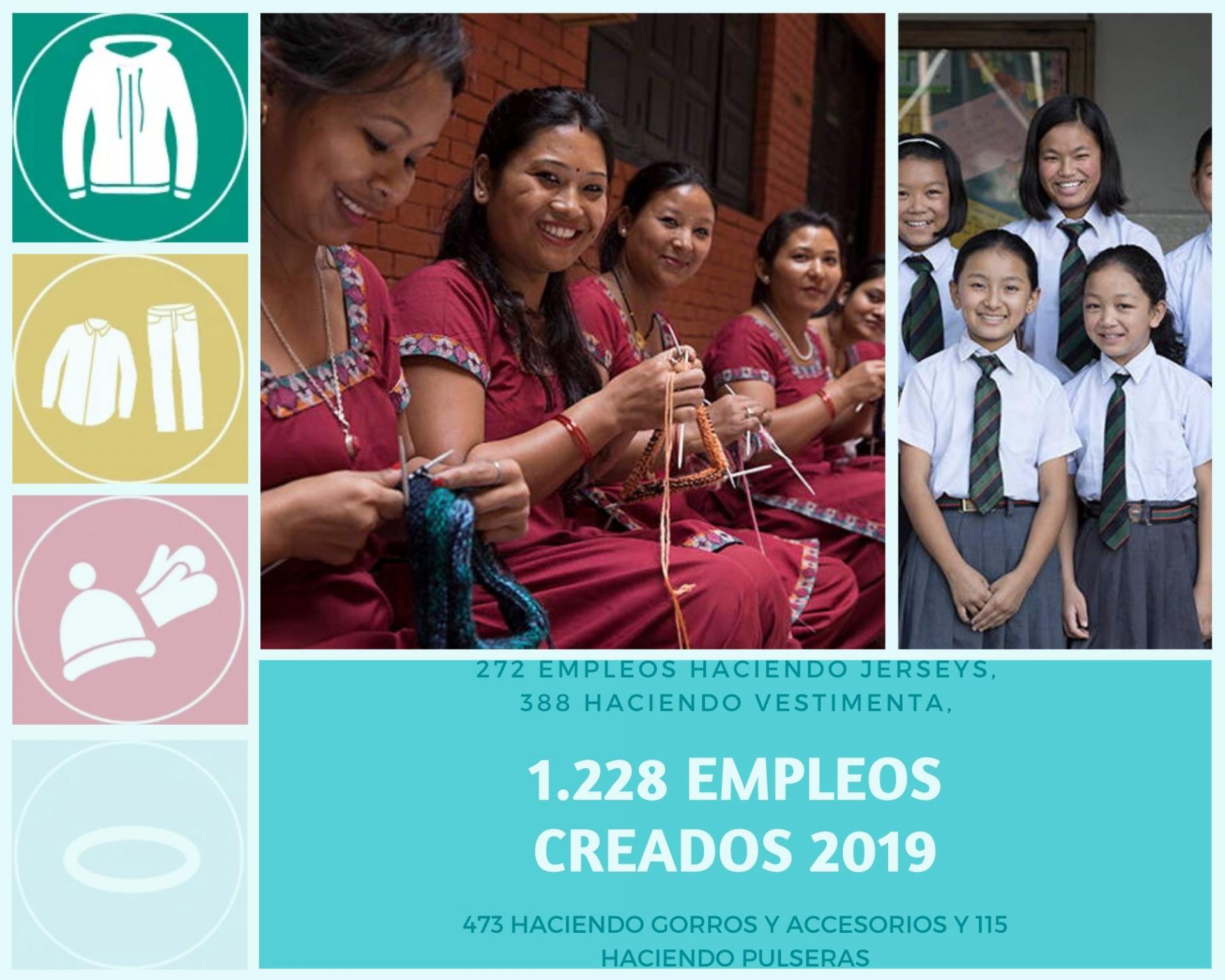 CREANDO TRABAJO, IMPACTO DE SHERPA EN 2019