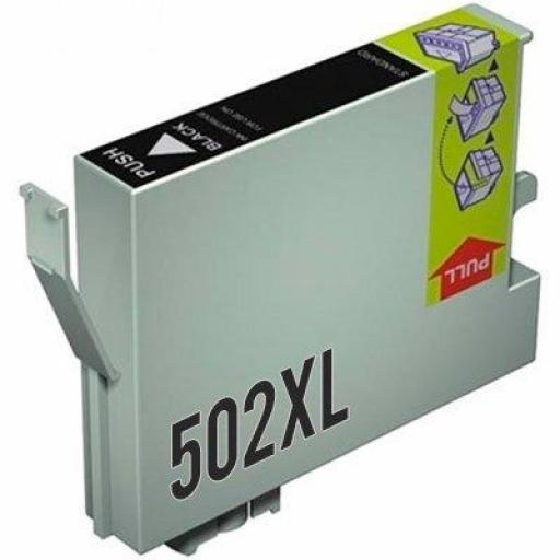 EPSON 502XL BK CARTUCHO DE TINTA GENERICO C13T02W14010/C13T02V14010