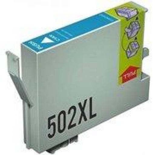EPSON 502XL C CARTUCHO DE TINTA GENERICO C13T02W24010/C13T02V24010