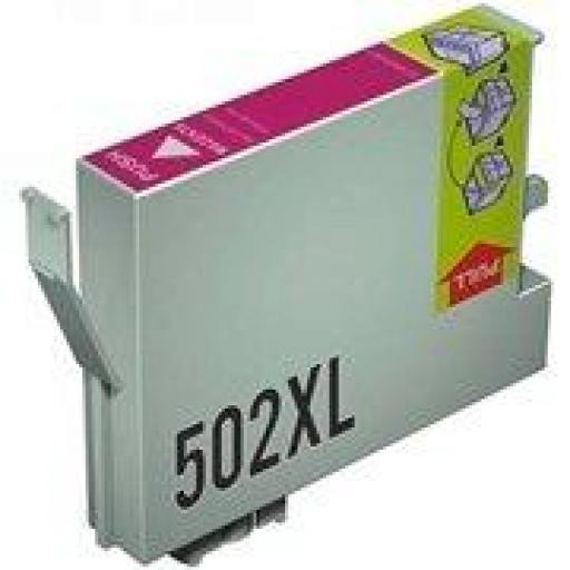 EPSON 502XL M CARTUCHO DE TINTA GENERICO C13T02W34010/C13T02V34010