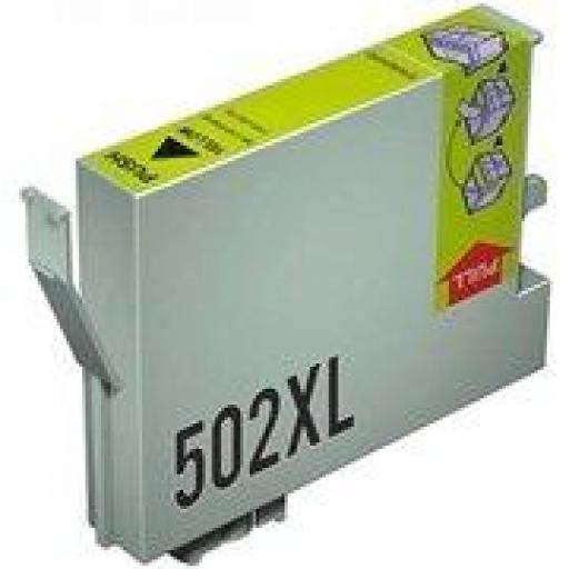 EPSON 502XL Y CARTUCHO DE TINTA GENERICO C13T02W44010/C13T02V44010