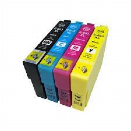 EPSON 603XL CYAN CARTUCHO DE TINTA GENERICO C13T03A24010/C13T03U24010