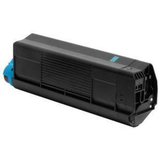 OKI C5100/C5200/C5400/C5250/C5450/C3100/C3200 CYAN toner alternativo