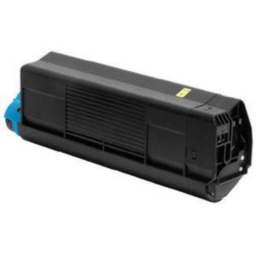OKI C5100/C5200/C5400/C5250/C5450/C3100/C3200 AMARILLO toner alternativo