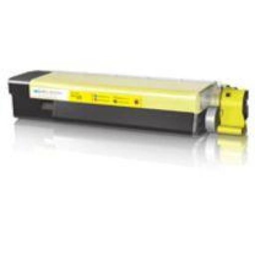 OKI C5800/C5900/C5500 AMARILLO toner alternativo 43324421