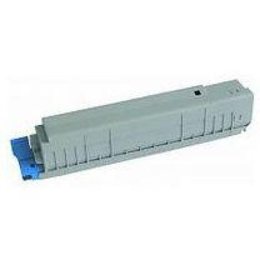 OKI C8600/C8800 NEGRO toner alternativo 43487712