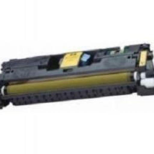 HP C9702A AMARILLO toner alternativo Nº121A