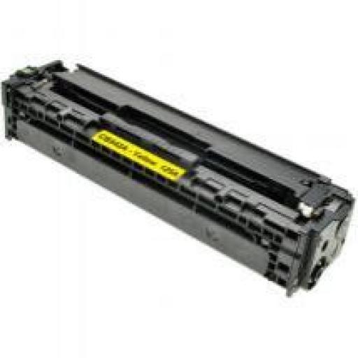 HP CB542A AMARILLO  toner alternativo  Nº125A/128A