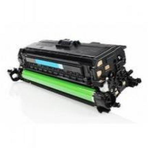 HP CE401A CYAN toner alternativo Nº507A