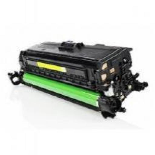 HP CE402A AMARILLO toner alternativo Nº507A
