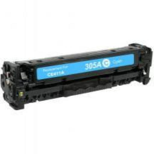 HP CE411A CYAN toner alternativo Nº305A