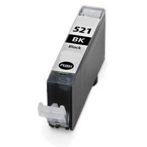 CANON CLI521 NEGRO cartucho alternativo 2933B001