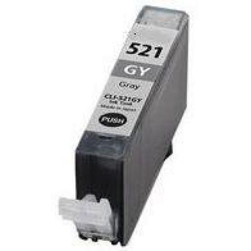 CANON CLI521 GRIS cartucho alternativo 2937B001