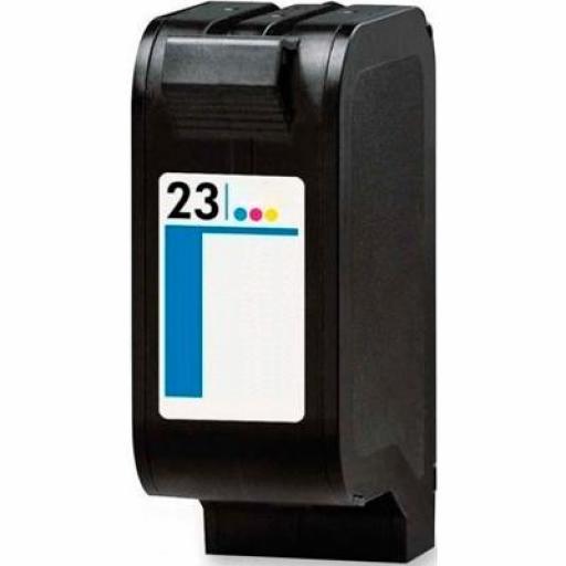 C1823DE cartucho alternativo HP Nº 23 TRICOLOR [0]