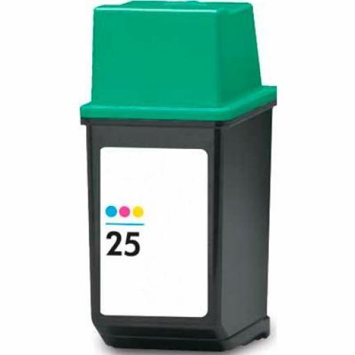 51625AE cartucho alternativo HP Nº 25